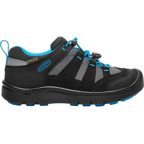 Keen Hikeport WP Shoes Youth black/blue jewel